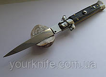 Нож автоматический Итальянский автоматический стилет Frank Beltrame 23см рог буйвола plain