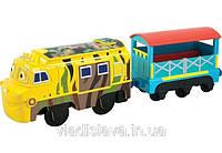 Моторизированный паровозик Мтамбо с вагоном Сафари Chuggington LC58005