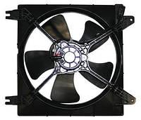 "Вентилятор охлаждения радиатора основной ""Parts-Mall""   GM Lacetti 1.8"