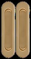 Ручки для раздвижных дверей Armadillo SH010 матовое золото, фото 1