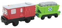 Моторизированный паровозик Ирвин с грузовым вагоном Chuggington LC58006