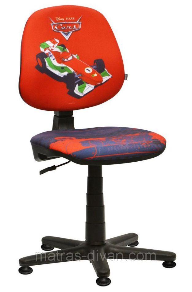 Кресло Актив Дизайн ― Дисней Тачки Франческо Бернулли со стопками.