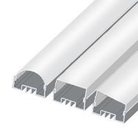 ЛСО алюминиевый профиль для светодиодной ленты, накладной 12 х 34 мм.