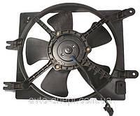 "Вентилятор охлаждения радиатора двигателя,основной ""Parts-Mall "", GM Lacetti 1.6, GM Lacetti 1.4"
