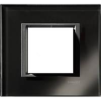 SHNEIDER ELECTRIC UNICA CLASS Рамка 1-постовая Черное зеркало