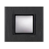 SHNEIDER ELECTRIC UNICA CLASS Рамка 1-постовая Черный камень