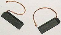 Щетка угольная для стиральной машины 5*12,5*32 клееная, провод с боку Siemens Bosch