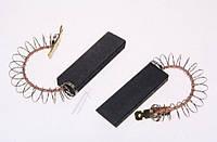 Щетка угольная для стиральной машины 5*12,5*35 клееная, провод по центру с пружинкой