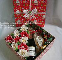 """Новогодний сладкий свит бокс - большой """"Дед Мороз"""", фото 1"""