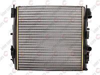 Радиатор охлаждения двигателя на Renault Kangoo 97->08  (+/-AC) 460x470x30 — Nissens (Дания) - NIS 63762