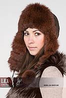 Меховая женская шапка(кролик первый сорт) №431