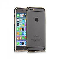 Бампер Devia для iPhone 6 Plus/6S Plus Buckle Curve Gun Black (3595)