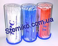 Пластиковые аппликаторы браши, упаковка 100шт