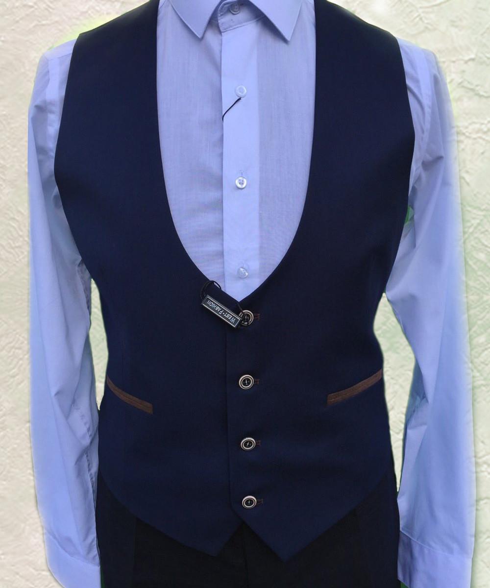 Жилет мужской West-Fashion модель A-75 синяя