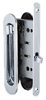 Замок для раздвижной двери Armadillo SH011-BK CP-8 хром