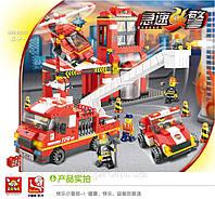 Конструктор Пожарная станция Sluban M 38 B 0227/10210