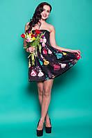 Нарядное красочное платье Эксклюзив