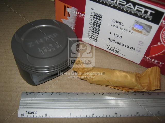 Поршень OPEL (Опель) 73,90 1,4i 16V Z14XEP (пр-во Mopart)