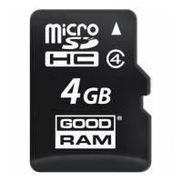 Флеш карта GOODRAM 4GB microSD Class 4 (M400-0040R11)