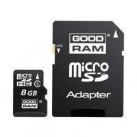 Флеш карта GOODRAM 8GB microSD Class 4 (M40A-0080R11)