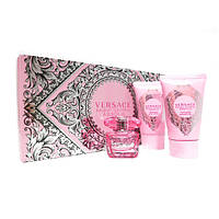 Versace Bright Crystal Absolu - Набор (edp 5 + b/l 25 + sh/g 25) (Оригинал)