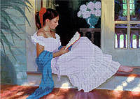 Схема для вышивки бисером Увлекательный роман КМР 3071