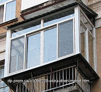 Металлопластиковые Балконы Лоджии Цена