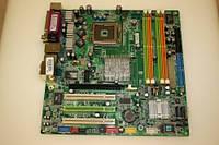 Плата S775 MSI MS-7091 под DDR2 и только 1 ядро Pentium 4 ( IV ) INTEL 775 FSB 800 c ГАРАНТИЕЙ