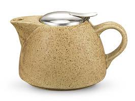 Чайник заварочный керамический 1000 мл песочный Fissman (TP-9299.1000)