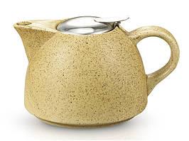 Чайник заварочный керамический 650 мл песочный Fissman (TP-9298.650)