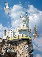 Схема для вышивки бисером Ласточкино гнездо КМР 3078
