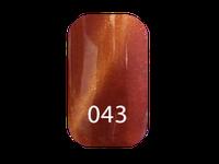 """Гель-лак """"Trendy nails""""  Котяче око №43 (8 мл)"""