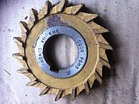 Фреза дисковая 3-х сторонняя Ф 80х10х27 Р6М5