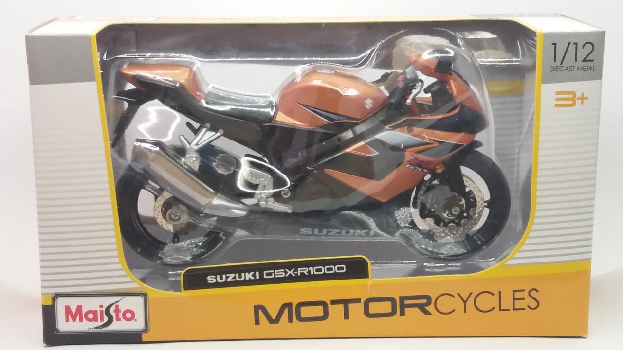Мотоцикл Suzuki GSX-R1000 1:12 Maisto