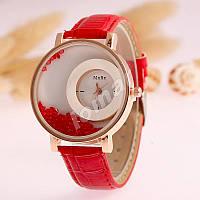 Женские кварцевые часы MxRe Red