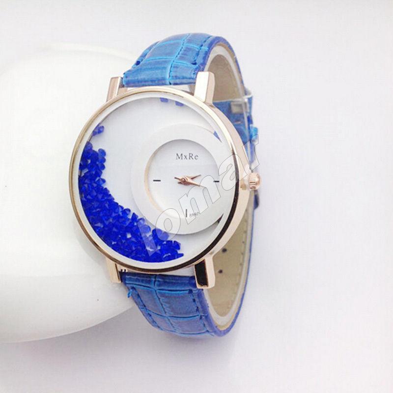Женские кварцевые часы MxRe Blue