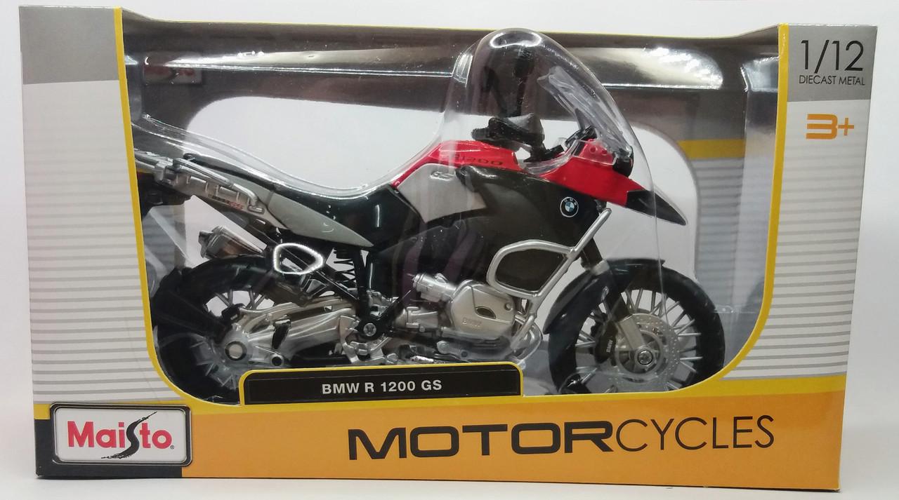 Maisto Мотоцикл 1:12 BMW  R1200GS