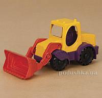 Игрушка для игры с песком Мини-экскаватор манго-сливово-томатный Battat BX1420Z