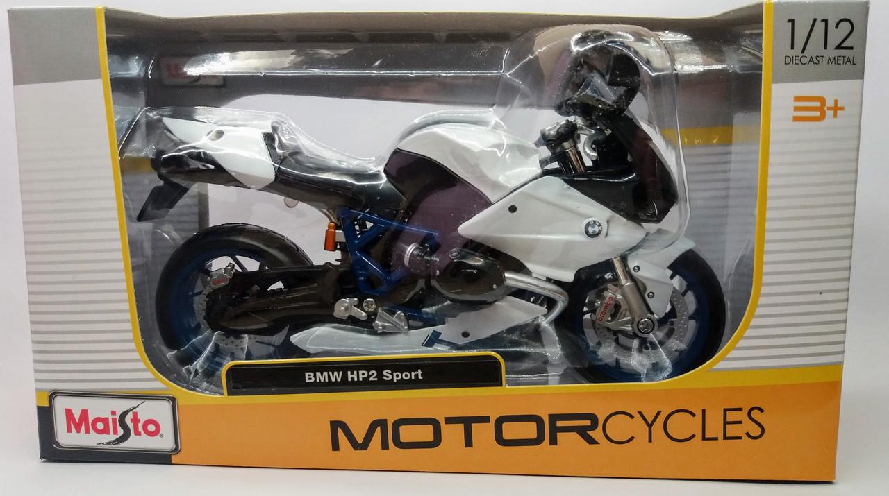 Мотоцикл BMW HP2 Sport 1:12 Maisto