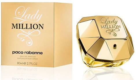 Женские духи Paco Rabanne Lady Million edp 80 ml
