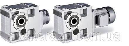 Коническо-цилиндрические мотор-редукторы Lenze серии GKS
