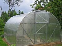 Теплица 4х6м с поликарбонатом 6мм (10-ть лет)