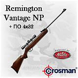 Crosman Remington Vantage NP, газопружинная пневматична гвинтівка з оптикою 4х32, фото 2