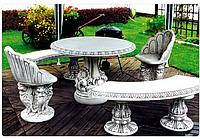 Стол бетонный «Барокко»