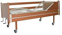 Кровать деревянная функциональная трехсекционная