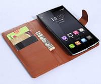 Чехол книжечка OnePlus 1 (One) кожаный
