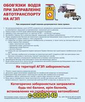 Знаки и таблички безопасности Обязанности водителя при заправке