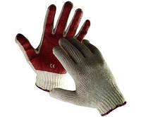 Перчатки 142510 СКУТЕР, трикотажные с латексным  покрытием