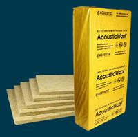 AcousticWool Sonet F, звукоизолирующая плита, 120 кг/м3, толщ. 20мм (6.0м2/уп) 1000*600