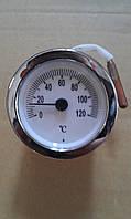 Термометр капилярный ( круглый) для котлов